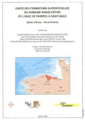 Carte des formations superficielles du domaine marin cotier de l'anse de paimpol a saint-malo (cotes - Couverture - Format classique