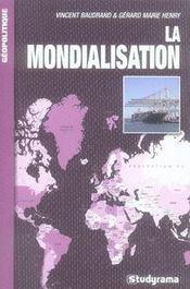 La mondialisation - Intérieur - Format classique