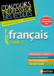 telecharger Francais t.2 (edition 2008) livre PDF en ligne gratuit