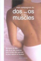 Compagnon du dos des os et des muscles (mon) - Intérieur - Format classique