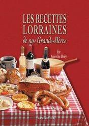 Les recettes lorraines de nos grands-mères - Intérieur - Format classique