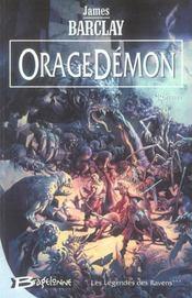 Les légendes des Ravens t.3 ; oragedémon - Intérieur - Format classique