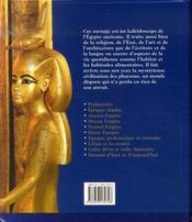 Egypte ; sur les traces de la civilisation pharaonique - 4ème de couverture - Format classique