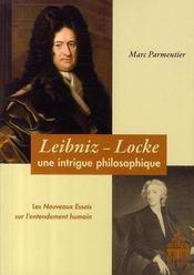 Leibniz locke : une intrigue philosophique - Couverture - Format classique