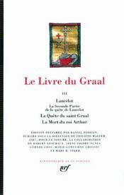 Le livre du Graal t.3 - Couverture - Format classique
