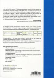 Reussir le DELF ; niveau B1 - 4ème de couverture - Format classique