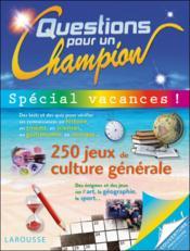 telecharger Question pour un champion special vacances livre PDF/ePUB en ligne gratuit