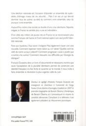 Nous sommes tous la France ! ; essai sur la nouvelle identité française - 4ème de couverture - Format classique