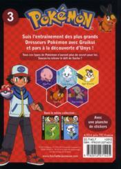 Pokemon ; Pokémon ; Jeux Et Activités T.3 ; Gruikui - 4ème de couverture - Format classique