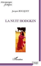 La nuit Hodgkin - Couverture - Format classique