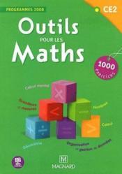 Outils pour les maths ; CE2 ; livre de l'élève (édition 2012) - Couverture - Format classique