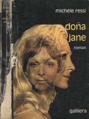 Dona Jane - Couverture - Format classique