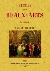Études sur les beaux-arts en général - Couverture - Format classique