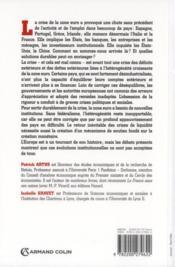 La crise de l'euro ; comprendre les causes ; en sortir par de nouvelles institutions - 4ème de couverture - Format classique