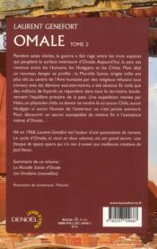 Omale t.2 ; la muraille sainte d'Omale ; les Omaliens - 4ème de couverture - Format classique