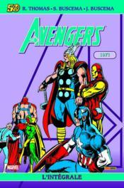 Avengers ; intégrale t.8 ; 1971 - Couverture - Format classique