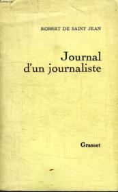 Journal D Un Journaliste. - Couverture - Format classique