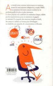 Méditer au travail - 4ème de couverture - Format classique
