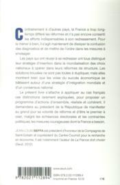 La France doit agir - 4ème de couverture - Format classique