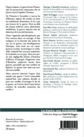 La guerre ; une vérité humaine - 4ème de couverture - Format classique