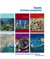 MoMA ; artistes européens - Couverture - Format classique