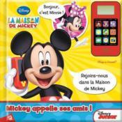 La maison de Mickey ; Mickey appellle ses amis ! - Couverture - Format classique