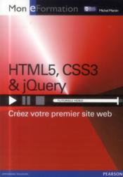 HTML5, CSS3 & jQuery - Couverture - Format classique