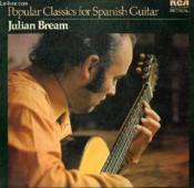 Disque Vinyle 33t Popular Classics For Spanish Guitar. - Couverture - Format classique