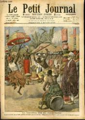 LE PETIT JOURNAL - supplément illustré numéro 907 - LE NOUVEAU ROI DE PORTO-NOVO - AU CAP JUBY - Couverture - Format classique