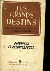 Pionniers Et Colonisateurs - Couverture - Format classique