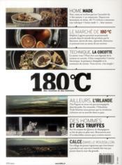 180°C N.4 ; Des Recettes Et Des Hommes - 4ème de couverture - Format classique