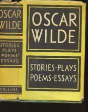 Stories - Plays- Poems - Essays - Couverture - Format classique