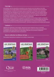Les végétaux ; des symbioses pour mieux vivre ; les notions essentielles ; 22 schémas pédagogiques ; une synthèse par chapitre - 4ème de couverture - Format classique
