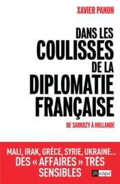 Dans les coulisses de la diplomatie française - Couverture - Format classique