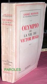 Olympio ou La Vie de Victor Hugo. - Couverture - Format classique