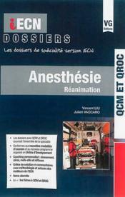 Iecn Dossier Anesthesie Reanimation - Couverture - Format classique
