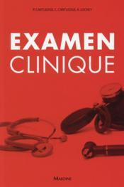 Examen clinique - Couverture - Format classique
