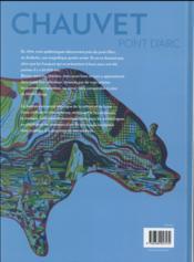 À la découverte de la grotte Chauvet - 4ème de couverture - Format classique