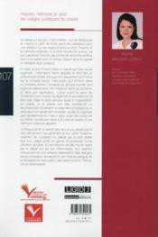 Le nouveau règlement insolvabilité : quelles évolutions ? - 4ème de couverture - Format classique