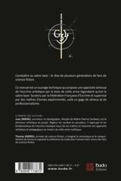 Manuel de combat au sabre laser ; initiation à l'escrime artistique - 4ème de couverture - Format classique