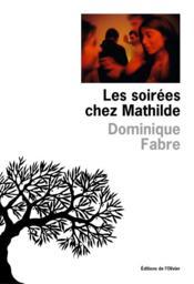 Les soirées chez Mathilde - Couverture - Format classique