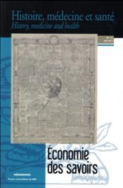 Économie des savoirs - Couverture - Format classique