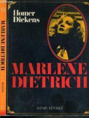 Marlene Dietrich - Couverture - Format classique