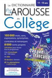 Dictionnaire du collège - Couverture - Format classique
