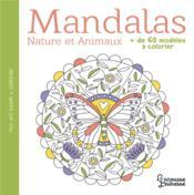 Mandalas nature et animaux - Couverture - Format classique