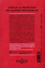 Code de la protection des données personnelles, annoté et commenté (édition 2021) - 4ème de couverture - Format classique