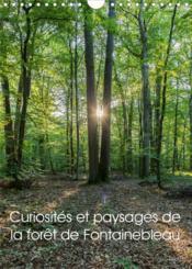 Curiosités et paysages de la forêt de Fontainebleau (calendrier mural 2021 din a4 vertical) - partez - Couverture - Format classique