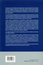 Le droit des comités sociaux et économiques et des comités de groupe (CSE) (édition 2021) - 4ème de couverture - Format classique