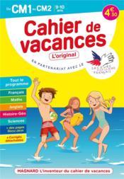 Cahier de vacances ; du CM1 au CM2 ; 9/10 ans - Couverture - Format classique