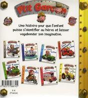 P'tit Garçon ; le tracteur de Peter - 4ème de couverture - Format classique